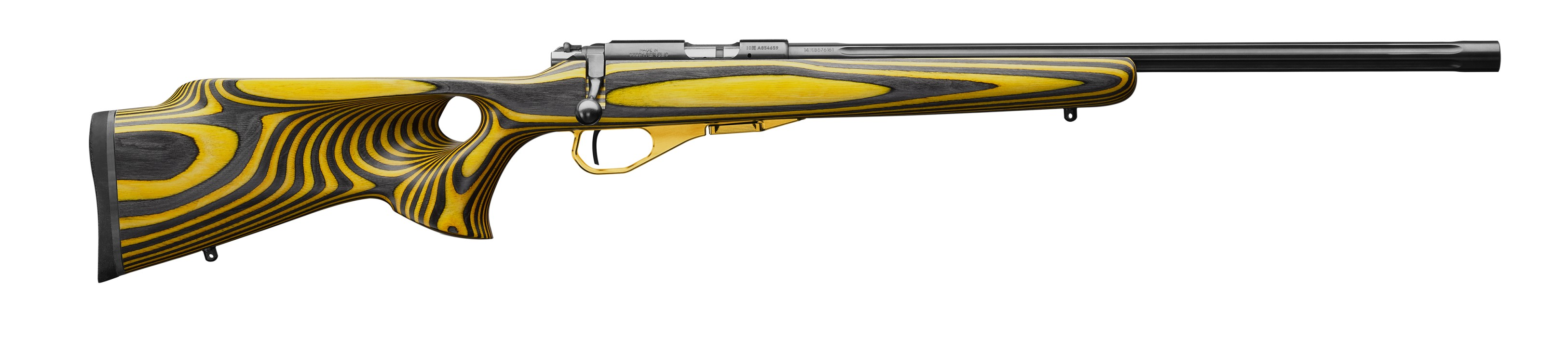 Brno CZ 455 Thumbhole Yellow