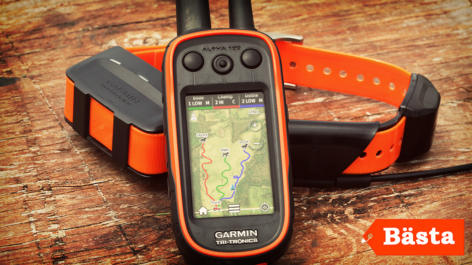 Garmin Alpha 100 bäst i test