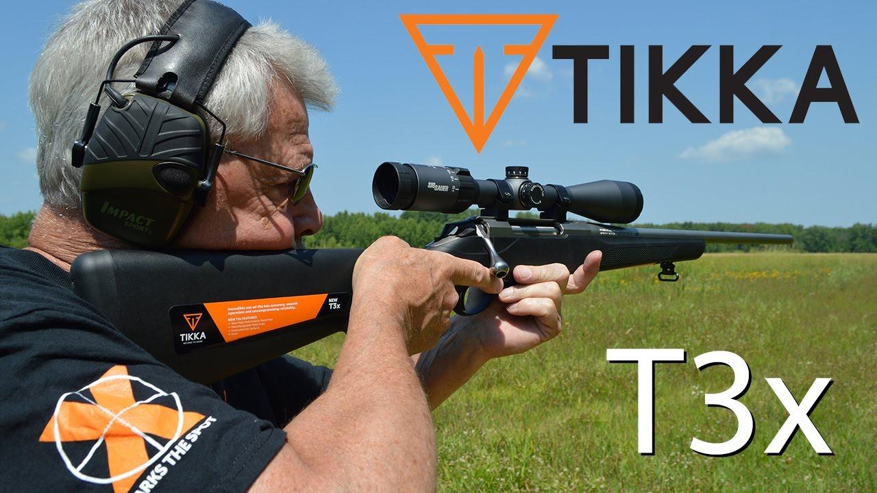 Tikka T3X Test