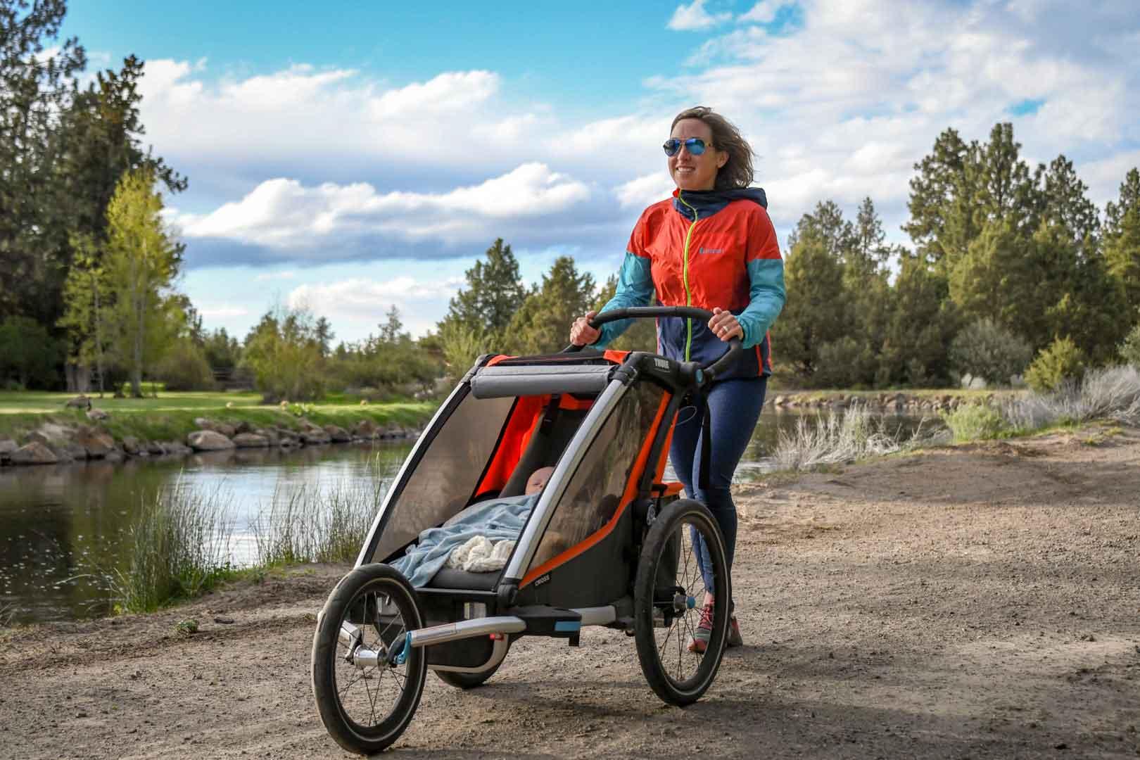 Recension av Thule joggingvagn