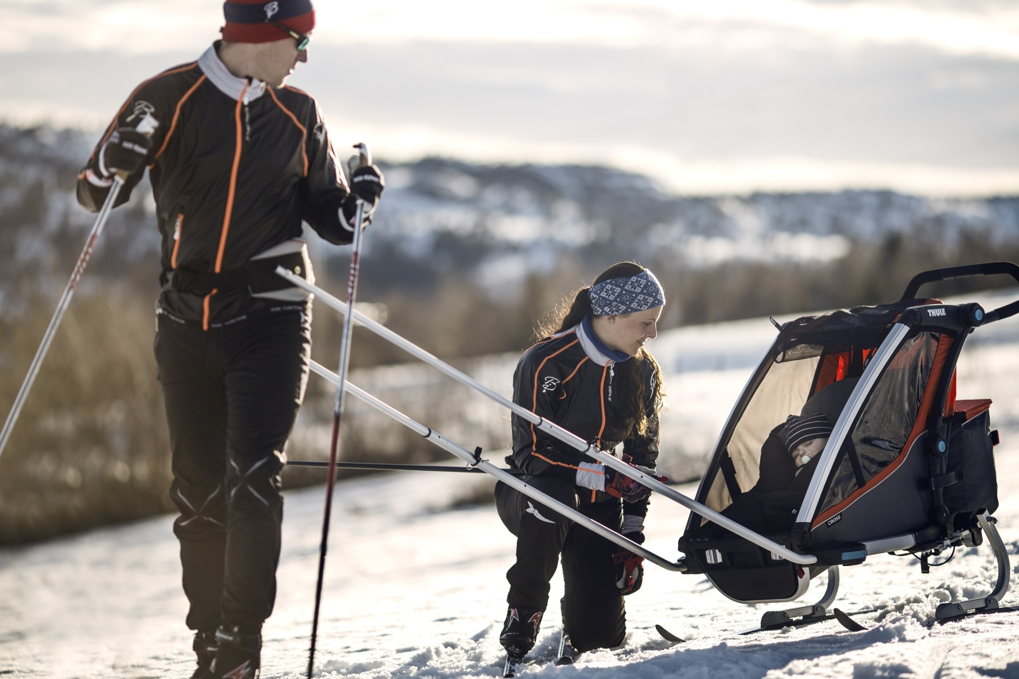 Thule Chariot Cross 2 Skidvagn