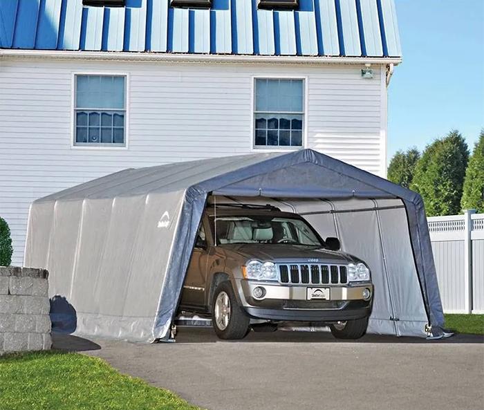 tält garage husvagn