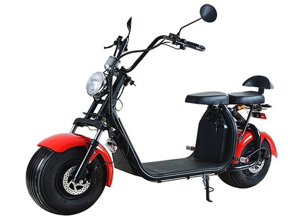 Fatbike 1000W - Elmotorcykel