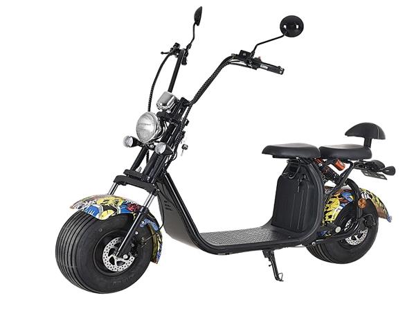 Fatbike 1000W Hiphop - Elmotorcykel