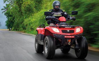 Test - Vägregistrerad fyrhjuling