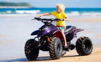Bästa ATV (Fyrhjuling) För Barn (Bensin & Eldriven)