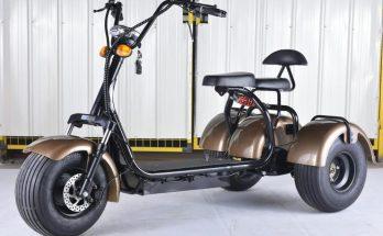 Bästa Elmoped med 3 Hjul (3 Hjulig Elscooter)