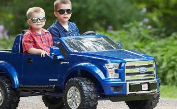 Bästa elbil för två barn (Eldriven 2 sits bil)