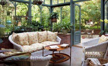 Inreda växthus som uterum (Orangeri & Vinterträdgård)