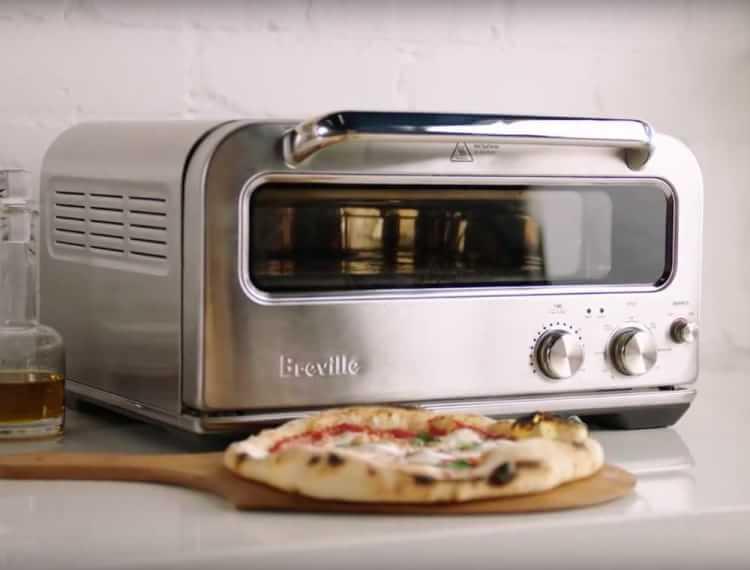 Elektrisk pizzaugn för hemmabruk