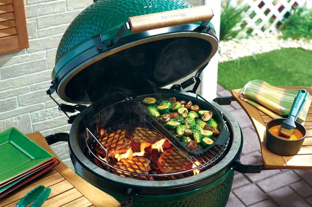 Keramisk grill green egg - Äggformad grill