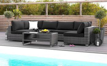 Bahamas Loungegrupp Large (Lyxiga loungemöbler)