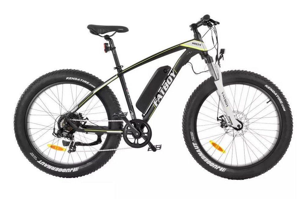 Elcykel Fatboy svart (Bra mountainbike elcykel)
