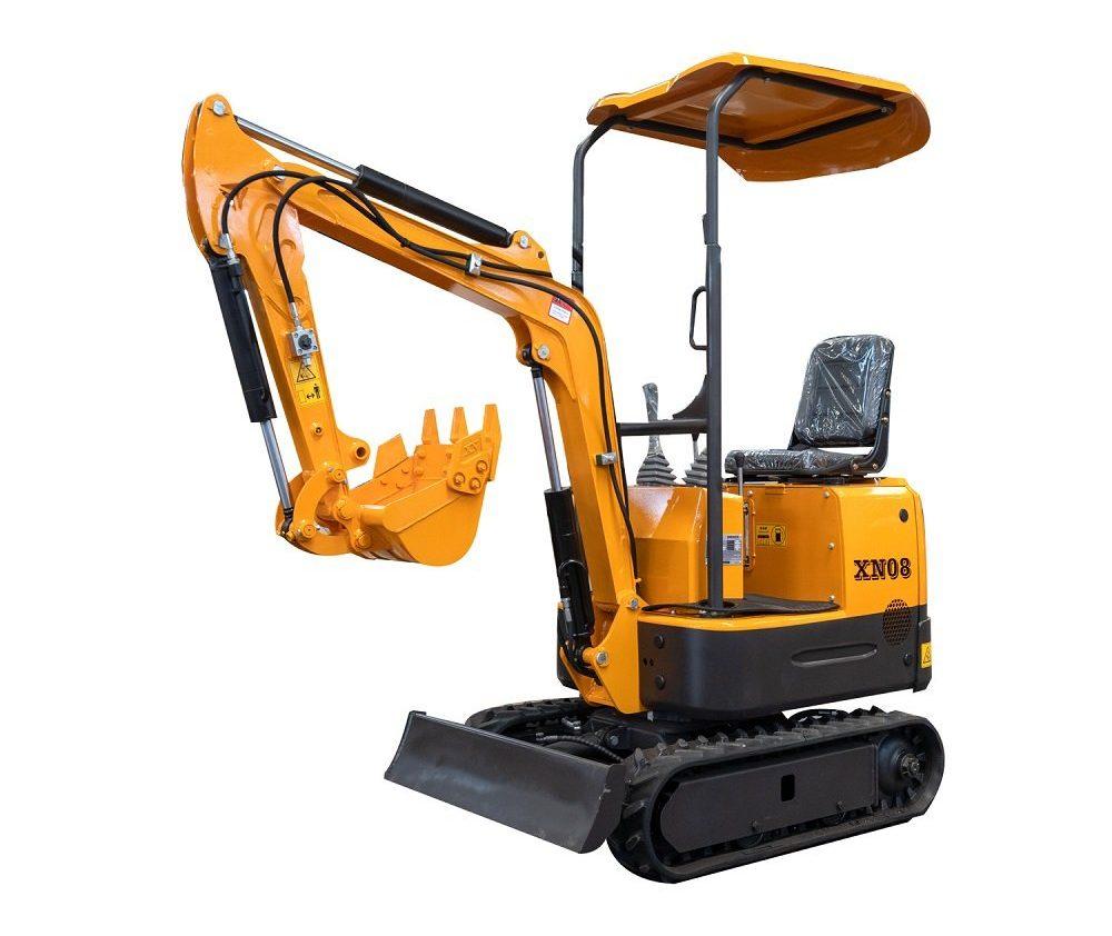 Minigrävare XN08 (Liten grävmaskin - Bäst i test)